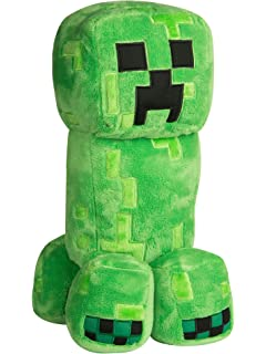 JINX Minecraft Grand Adventure Creeper Plush Stuffed Toy (Green, 16
