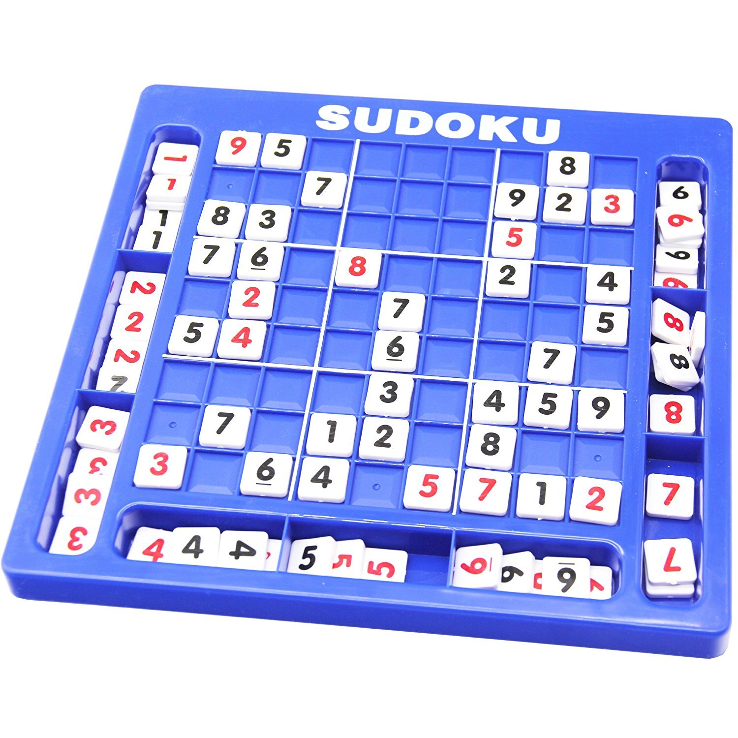 Plastic Sudoku Puzzle Game Board 81 Grid Puzzle Game toys Classical Puzzle Toys Brain Digital Puzzle Toys for Kids and Adults