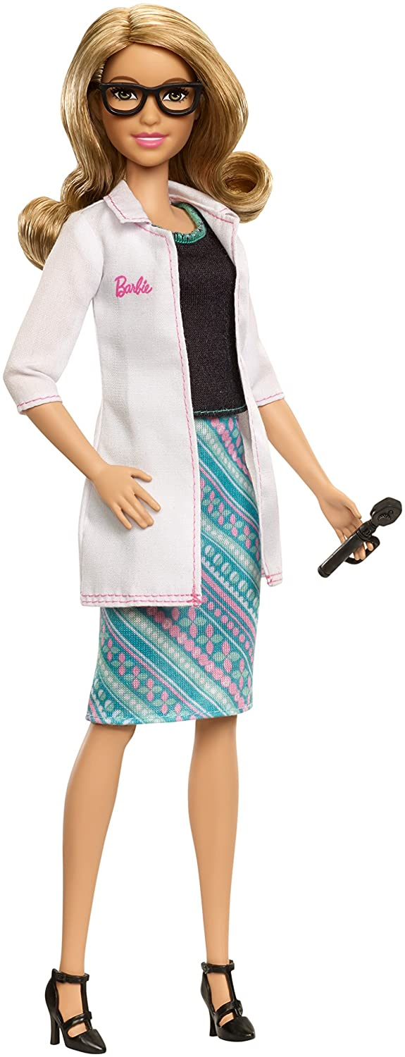 Barbie Careers Eye Doctor Doll Mattel FMT48