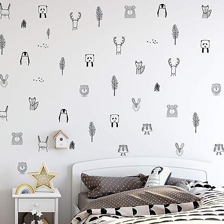 Pegatinas de pared de guardería encantadoras y elegantes: ¡se ve fantástico en la habitación de su h