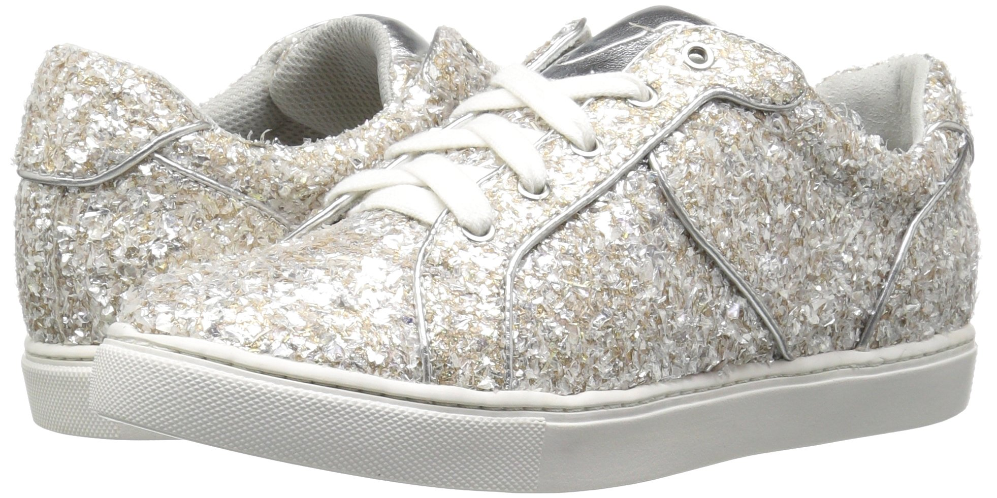 The Fix Women's Tawny Lace-up Fashion Sneaker, Silver Ice, 7.5 B US by The Fix (Image #6)