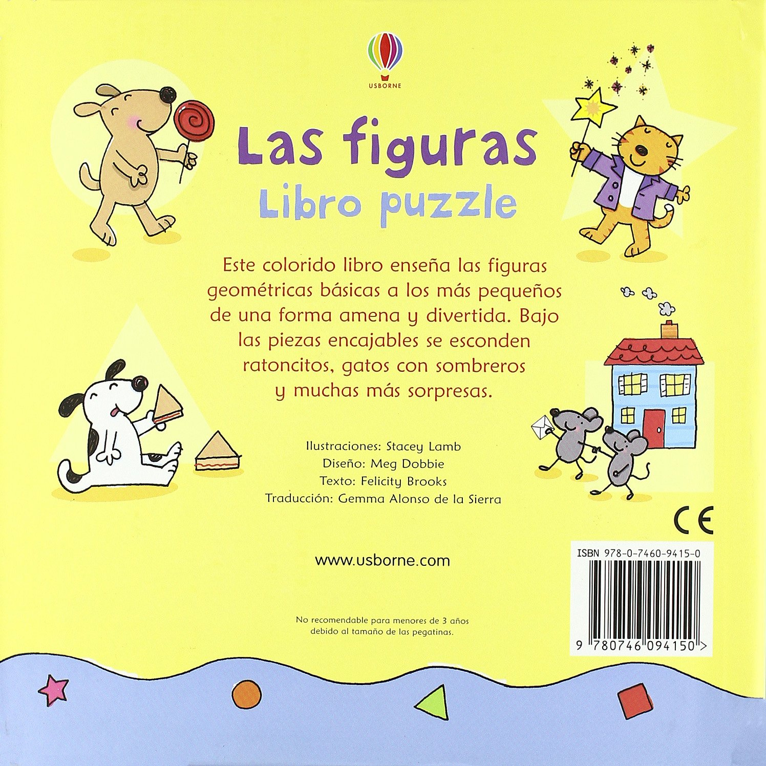 FIGURAS, LAS LIBRO PUZZLE: Stacey y otro Lamb: 9780746094150: Amazon.com: Books