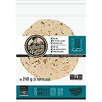 La Tortilla Factory Traditional Flour Wraps , 6-Pack of Non-GMO Wraps, 240gm