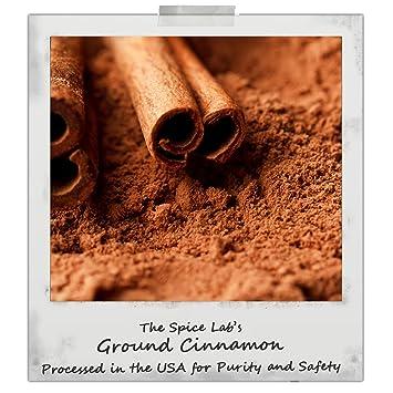The Spice Lab Gourmet Ground Cinnamon - French Jar