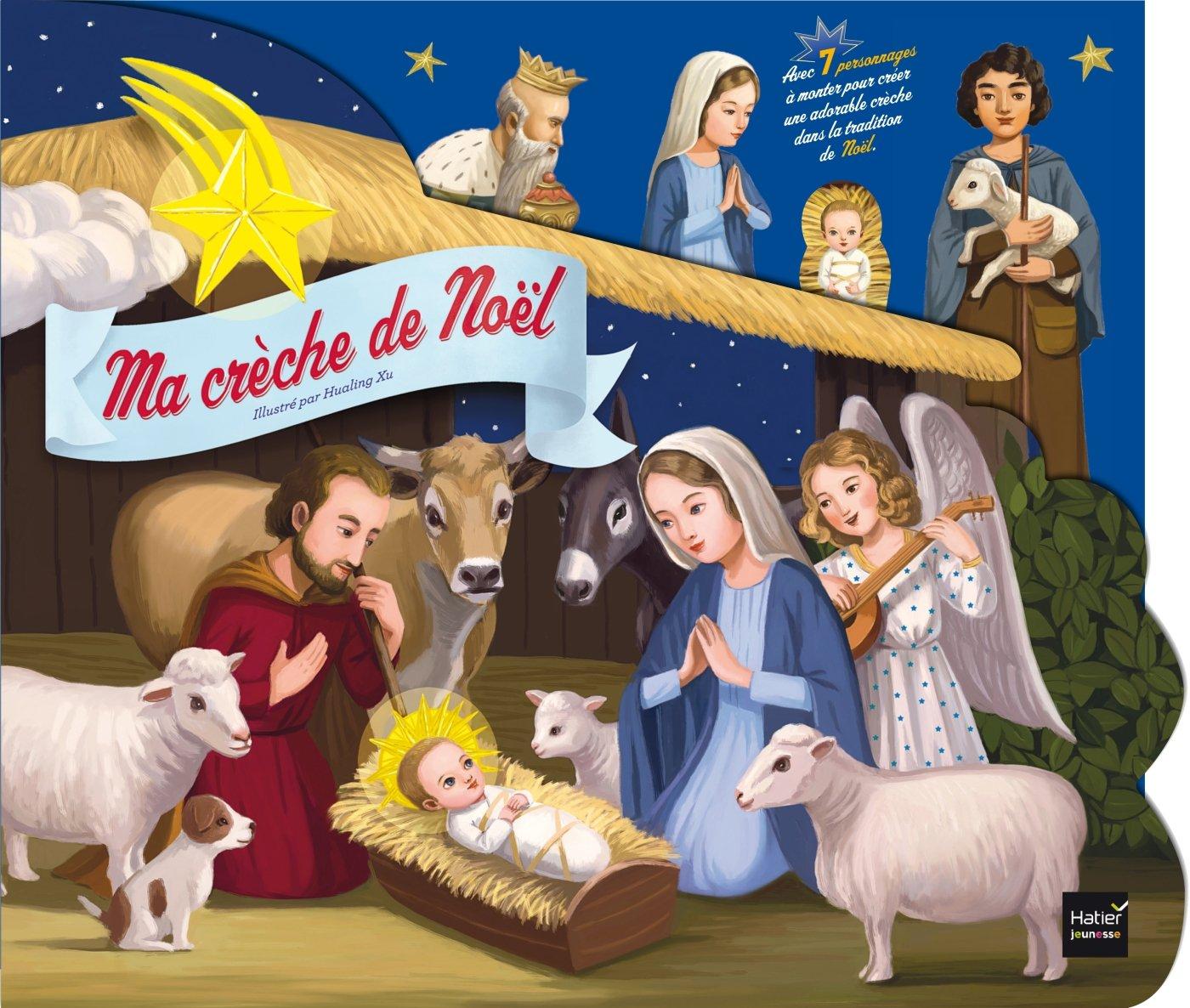 Ma crèche de Noël   A lire et à monter ensemble (Albums Hatier