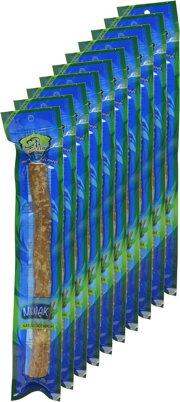 Natural Spa Supplies - Palos de cepillo de dientes (tamaño mediano): Amazon.es: Salud y cuidado personal