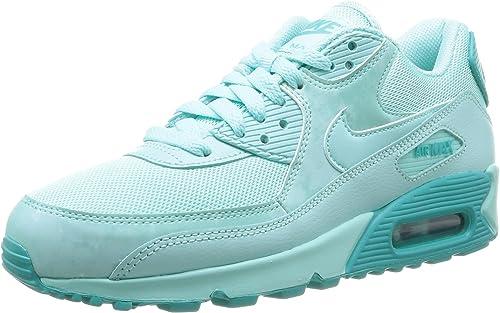 Nike Damen Air Max 90 Print Sneakers, Türkis (Artisan teal