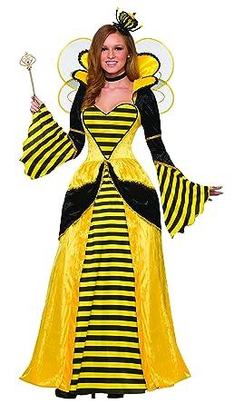 forum womens royal queen bee costume dress yellowblack