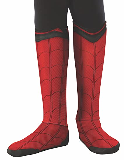 deac092de Amazon.com  Rubie s Costume Spider-Man  Homecoming Child s Boot Tops ...
