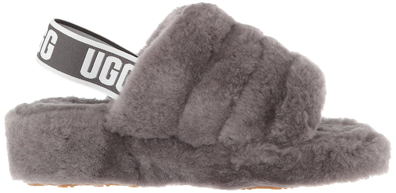 d374a4ea5511 Amazon.com  UGG Women s Fluff Yeah Slide Sandal  Shoes
