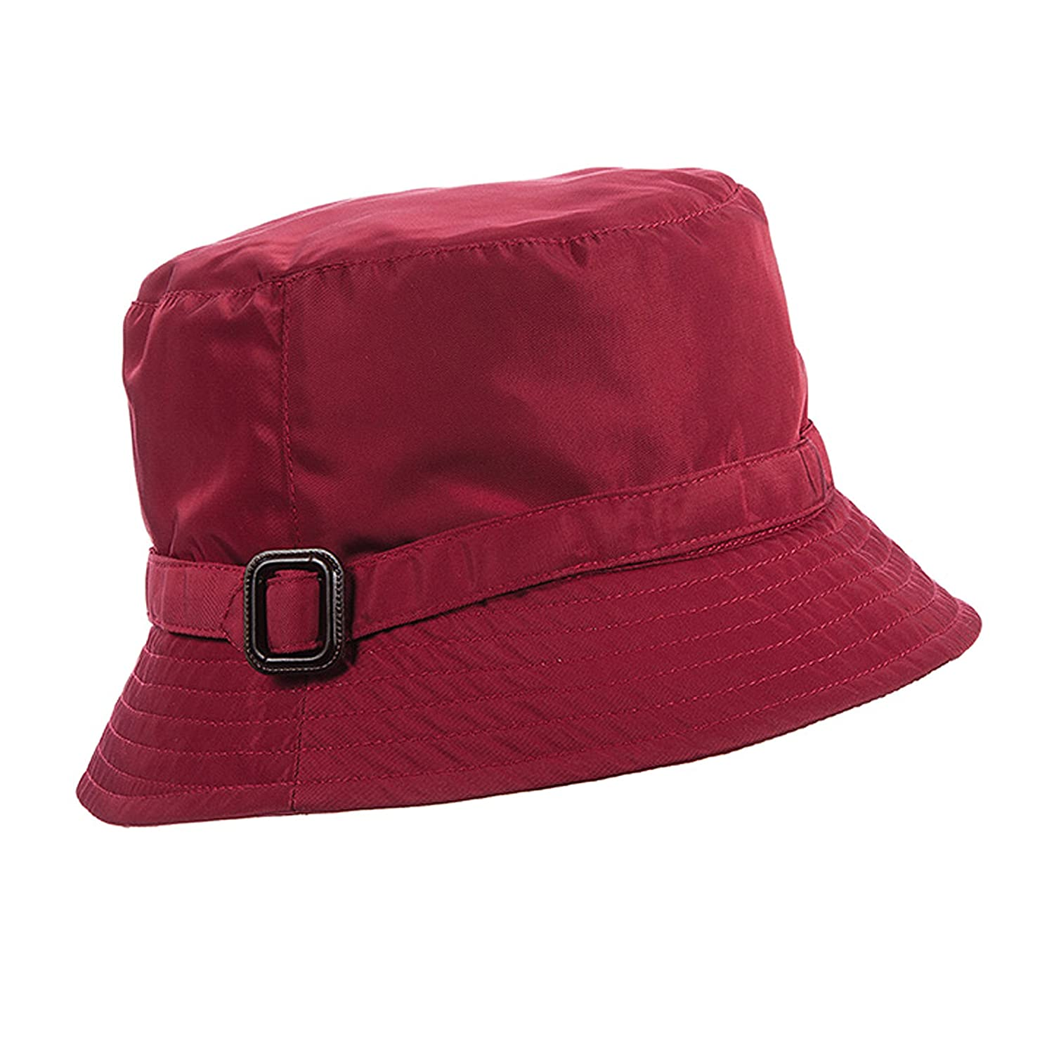 SCALA Rain Hat with Buckle Trim