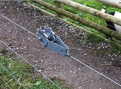 667212 10X Farm Garden Fence Wire Strainer Ratchet Tensioner