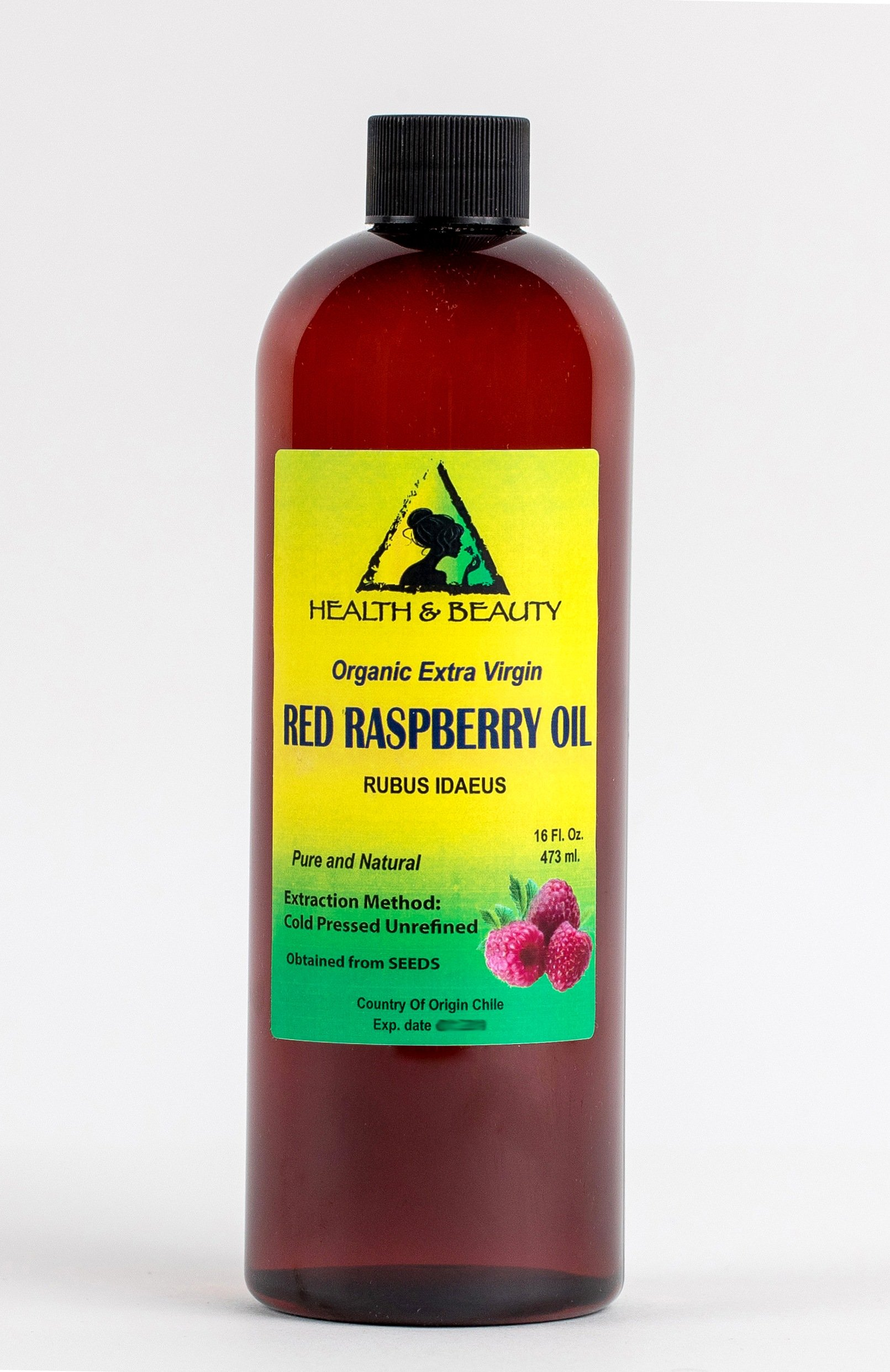 Red Raspberry Seed Oil Organic Unrefined Extra Virgin Cold Pressed Pure 48 oz