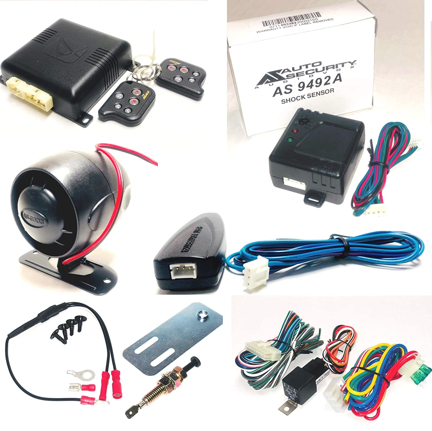 Avital 4105l Avistart Remote Start With Two 4 Button Car Starter For Mazda 5 Controls Cell Phones Accessories