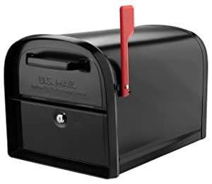 Architectural Mailboxes 6300B-10 Oasis 360 Locking Parcel Mailbox Extra Large Black