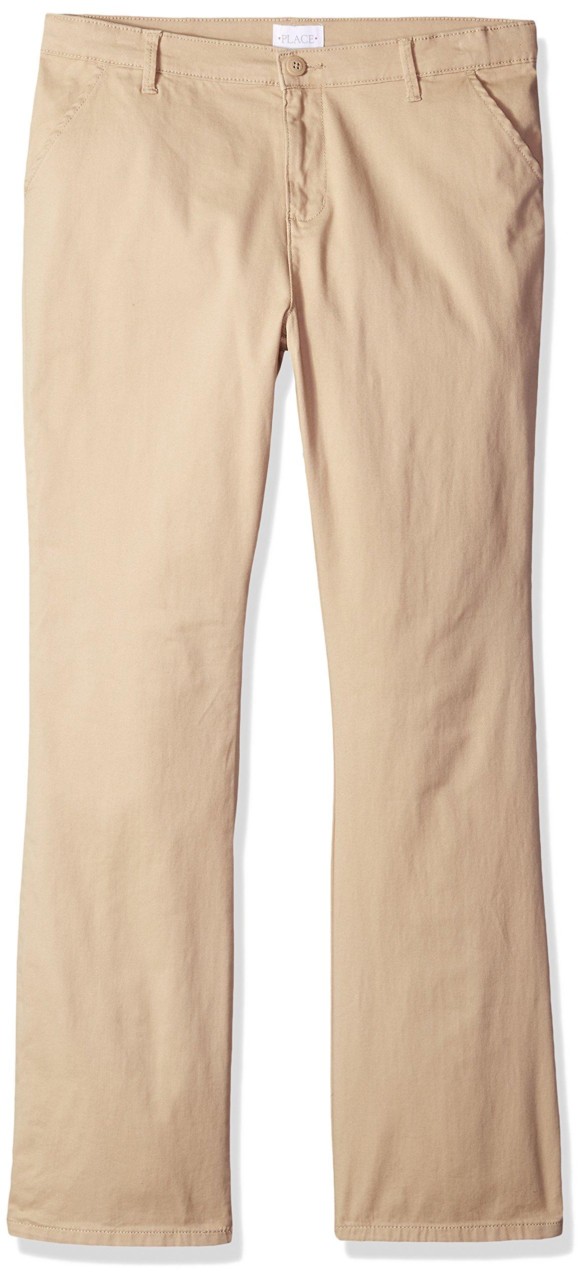 The Children's Place Big Girls' Skinny Pants, Sandy, 16P