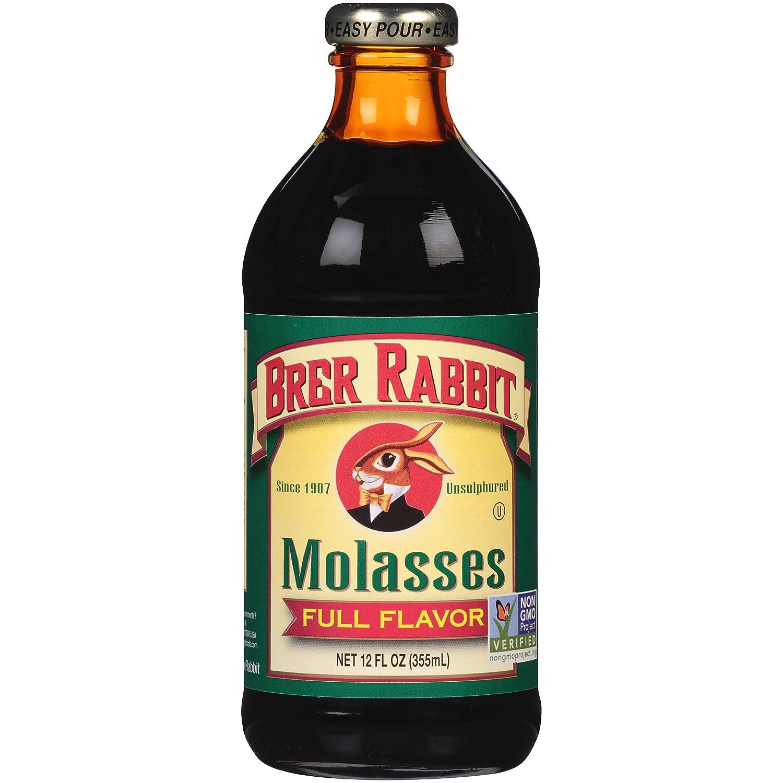 Brer Rabbit Unsulphured Molasses, Full Flavor, 12 Ounce