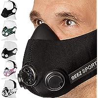 Geez Trainingsmaske Höhentraining Fitness Atemmaske Trainings Maske Training Mask