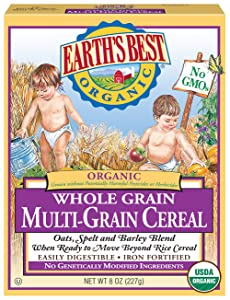 Earth's Best Organic Infant Cereal, Whole Multi-Grain Cereal, 8 Oz