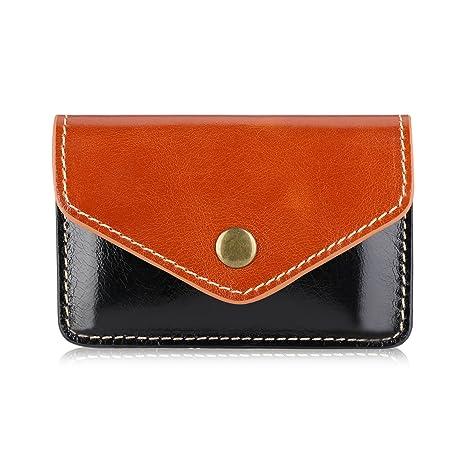 Amazon toplive business card holder credit card holder toplive business card holder credit card holder luxury genuine leather handmade business card colourmoves