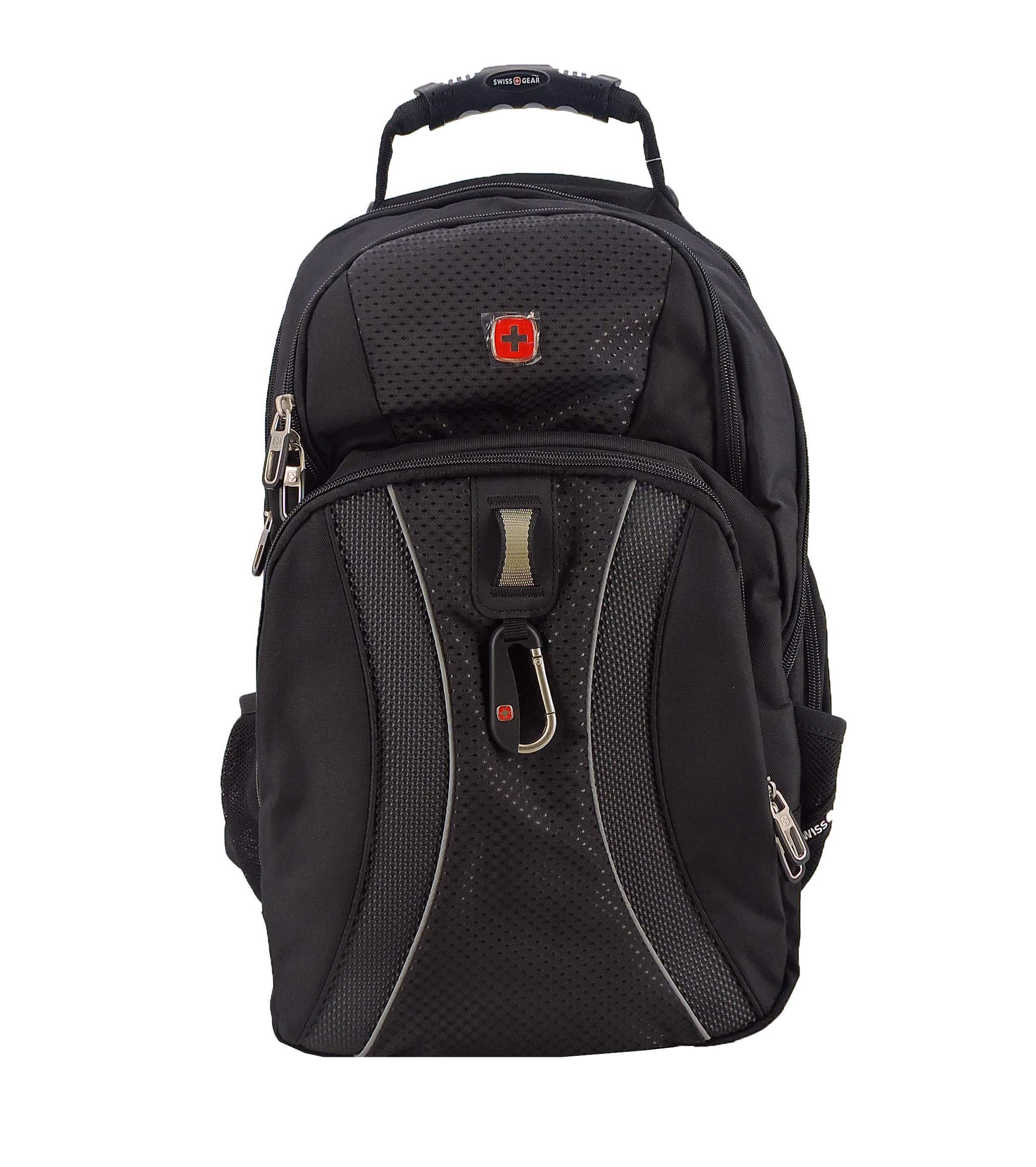 SWISSGEAR 1270 TSA friendly Scansmart Laptop Backpack School Work and Travel/Black by SwissGear