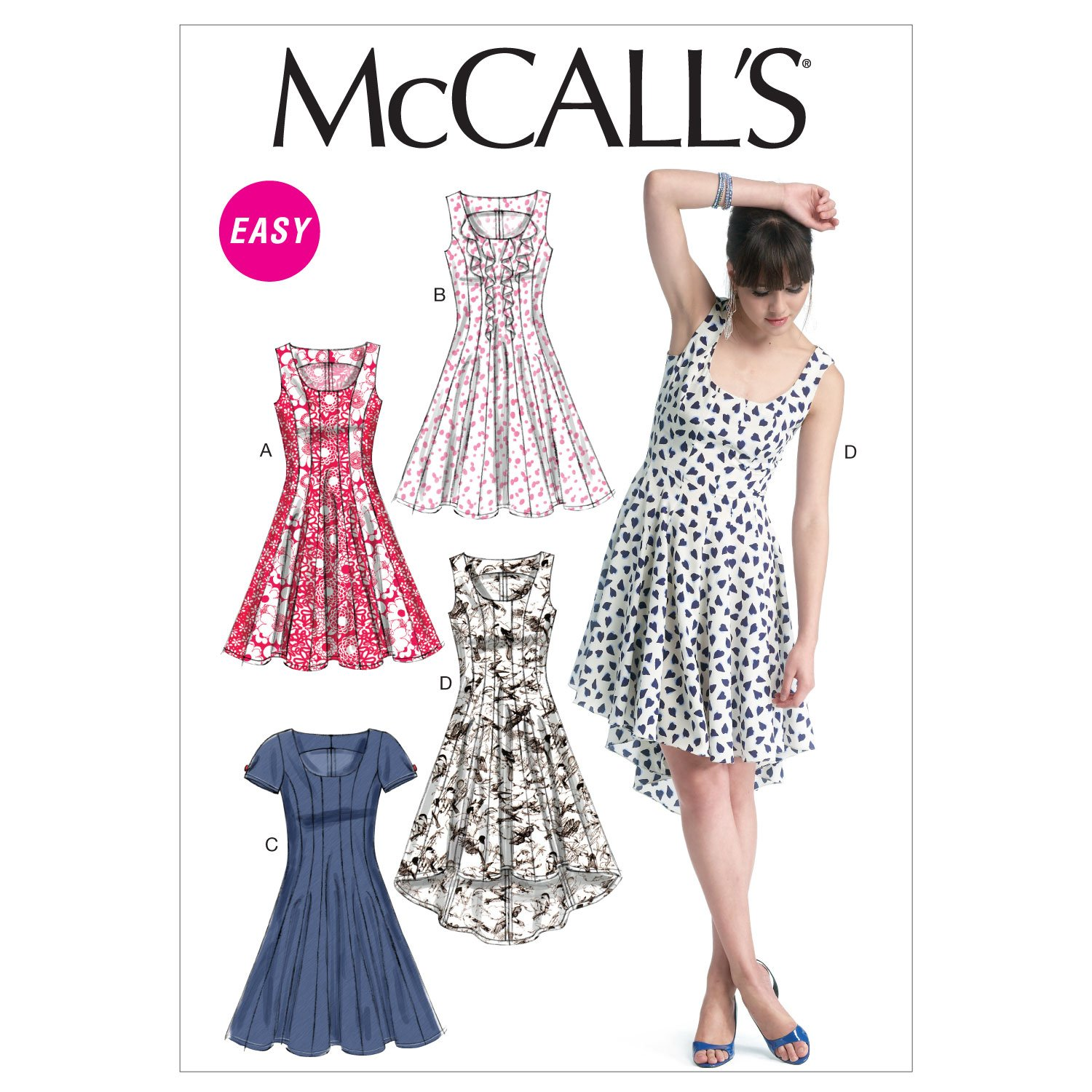 McCall Pattern Company McCalls MC 6504 E5 (14-16-18-20-22 ...