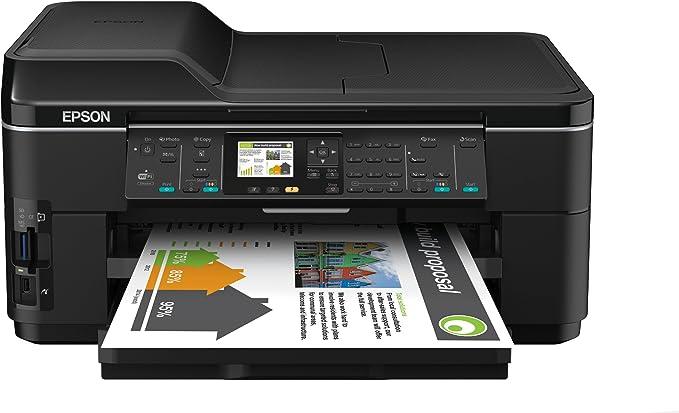 Epson Workforce 7515 - Impresora multifunción de Tinta (B/N 34 PPM ...