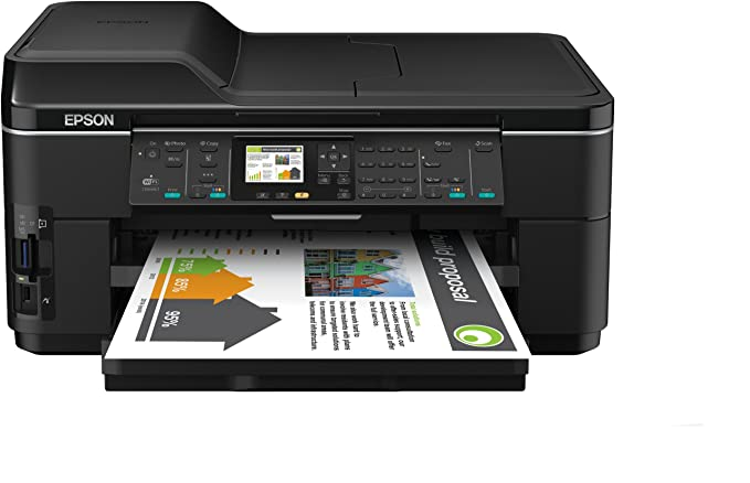 Epson Workforce 7515 - Impresora multifunción de Tinta (B/N 34 PPM ...