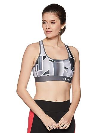 Under Armour Armour Mid Bra Printed Sujetador Deportivo Mujer