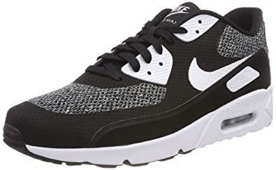 the latest be58b af9f7 Nike Air Max 90 Ultra 2.0 Essential, Sneakers Basses Homme, Multicolore  (Black