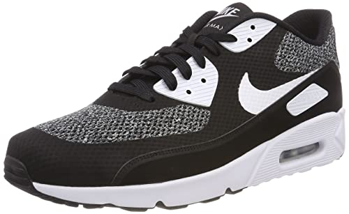 3c16c5e89f Nike Men's Air Max 90 Ultra 2.0 Essential Low-Top Sneakers, Black/White
