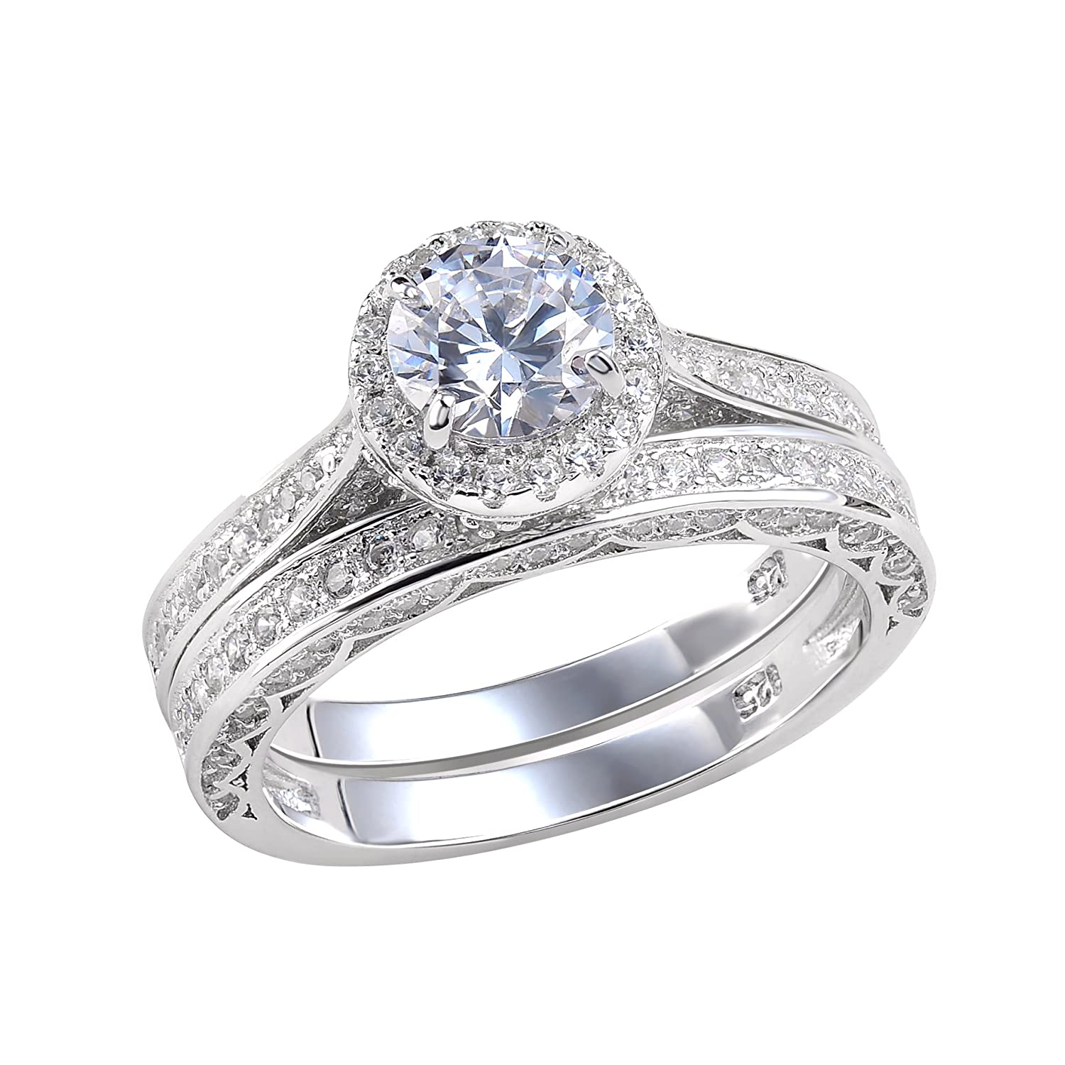 inc cushion j diamond ring band with a products halo engagement rings bands