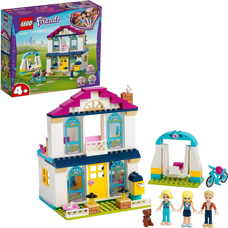 LEGO Friends Friends Stephanie 4+ Set de Juego Casa de Muñecas con Figuras de Familia, Juguetes para Niños de Preescolar, multicolor (Lego ES 41398): Amazon.es: Juguetes y juegos