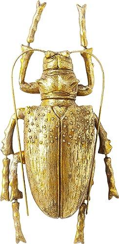 Kare Wall decoration Longicorn Beetle Gold