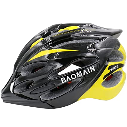 Amazon Com Baomain Adjustable Thrasher Adult Bike Helmet For Men