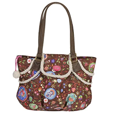 Fancy Planet S Tote Bag - Espresso Oilily qm8aNE
