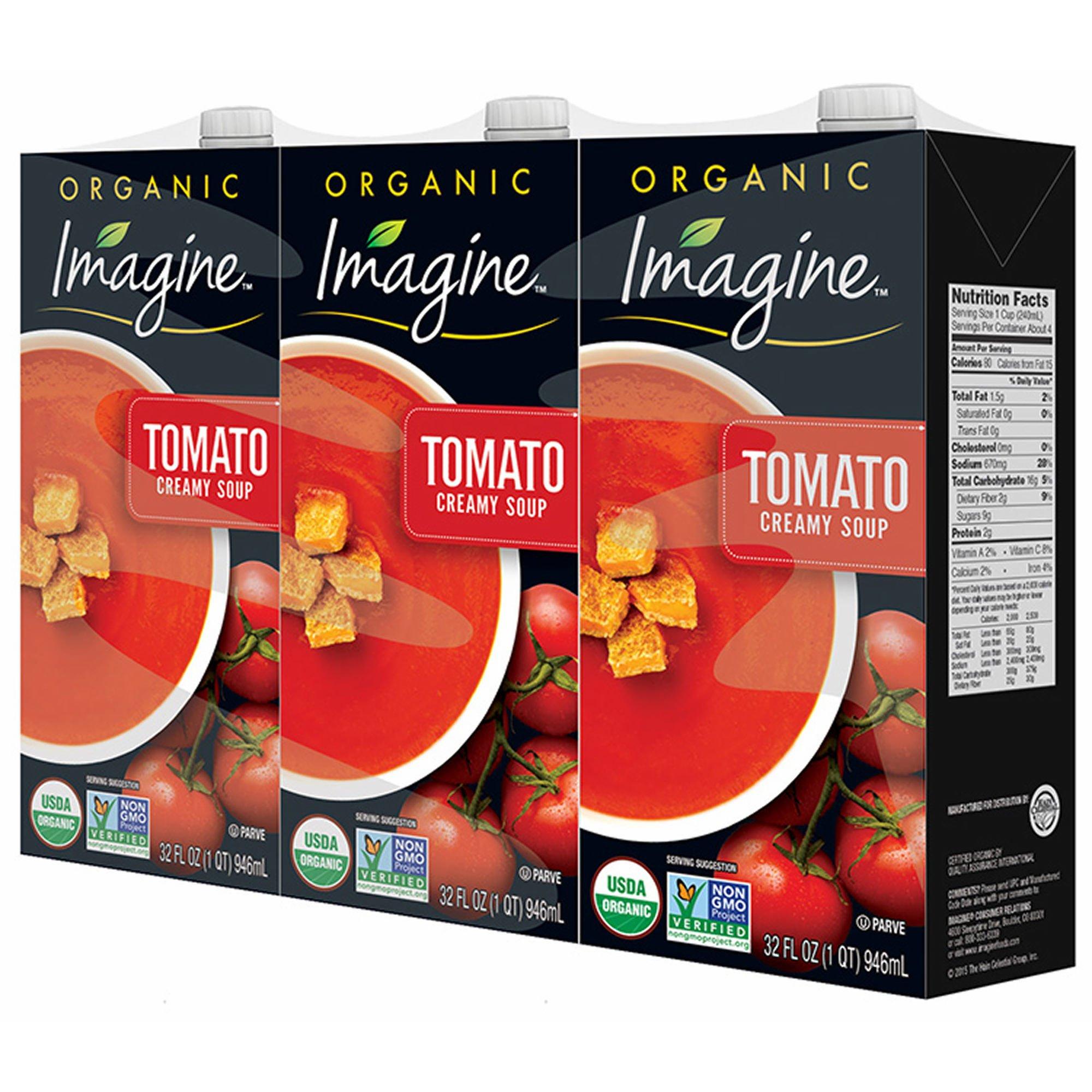 Imagine Organic Creamy Tomato Soup, 3 pk./32 oz. (pack of 2)