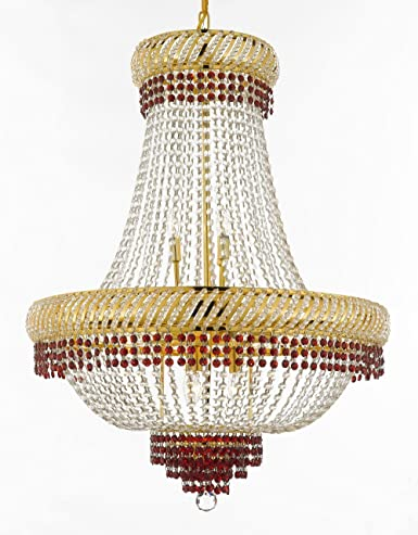 first rate 7ae0a 0c7af Moroccan Style French Empire Crystal Chandelier Chandeliers ...