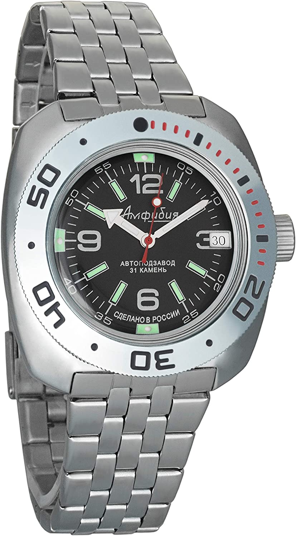 Vostok Anfibian 090348 - Reloj de pulsera automático para hombre