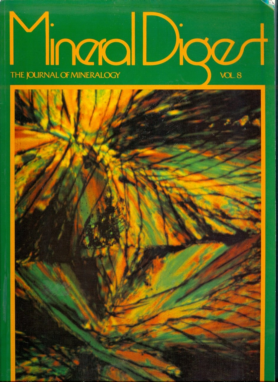 Mineral Digest (The Journal of Mineralogy, Volume 8)