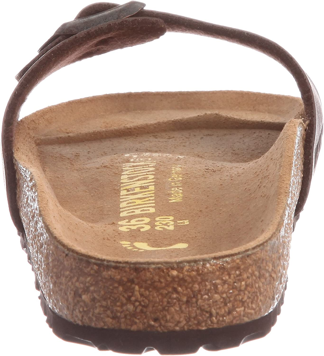 Birkenstock Madrid BF Dark Brown Brun
