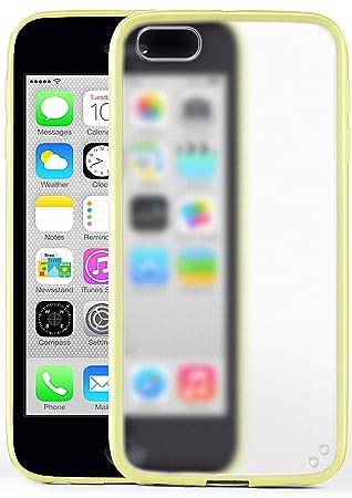 MoEx Funda Protectora OneFlow para Funda iPhone 5C Carcasa Silicona TPU 1,5mm | Accesorios Cubierta protección móvil | Funda móvil paragolpes Bolso ...