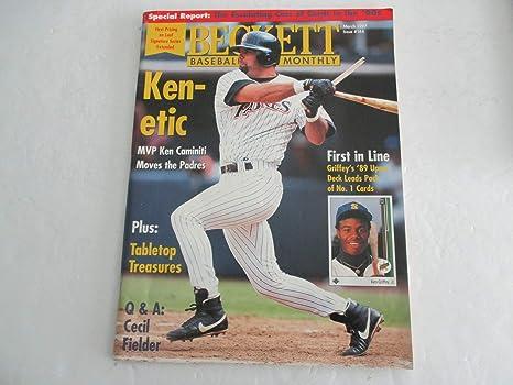 March 1997 Issue 144 Beckett Baseball Card Monthly Ken