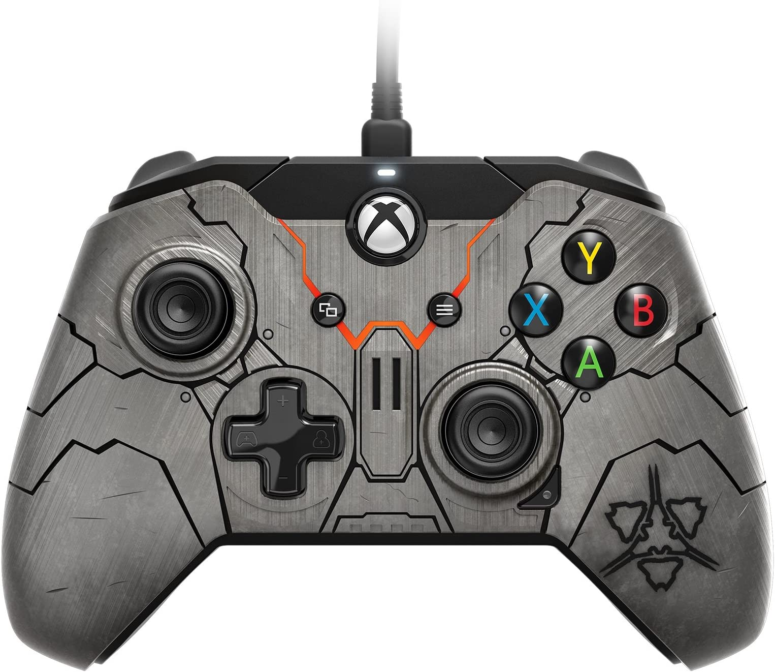 Amazon.com: Halo Wars 2 Banished Official Wired Controller for Xbox ...