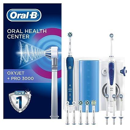 Oral-B PRO 3000 Estación de Cuidado Bucal + Oxyjet Irrigador. Pasa el ratón  por ... bc9045941e42
