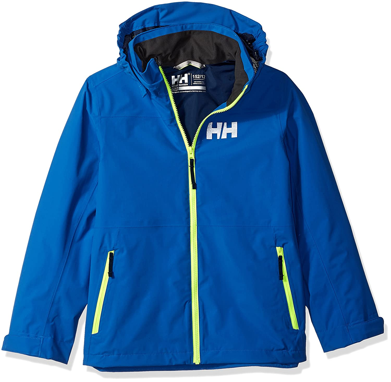 0aea52c717ce Helly Hansen Junior Rigging Rain Jacket  Amazon.co.uk  Sports   Outdoors