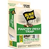 Black Flag 100534416 Pantry Pest Trap, 2-Count, White