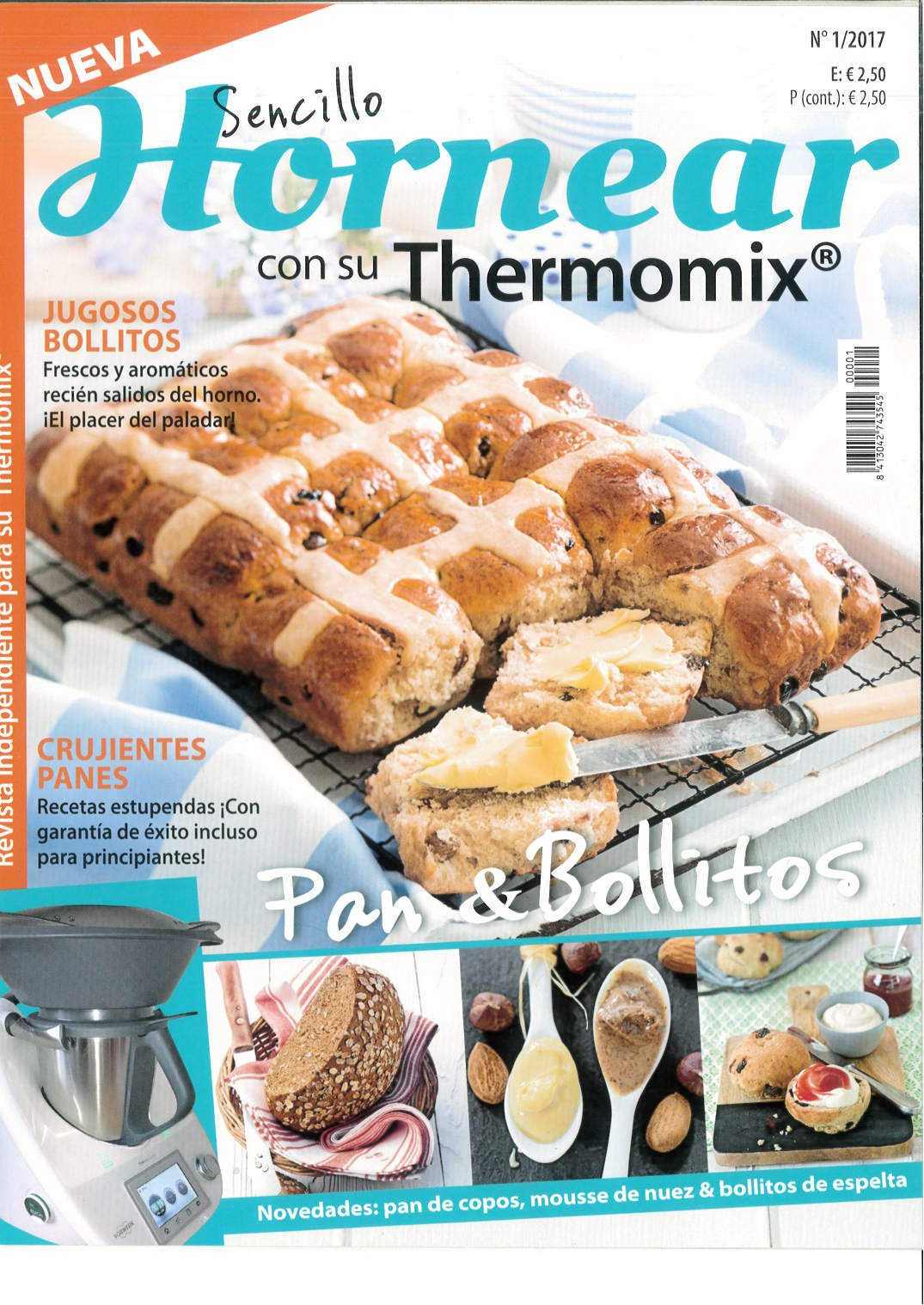 Pack: Cocinar con su Thermomix + Cocina Light + Sencillo Hornear. Mayo 2017 - Número 1: Amazon.es: Vv.Aa: Libros