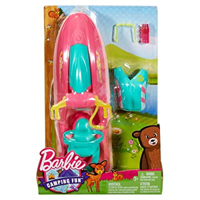 Barbie Camping Fun On the Go Water Craft: Toys & Games