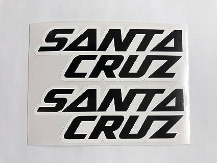 SBD Decals 2 Santa Cruz Bicycles Calcomanías: Amazon.es: Coche y moto
